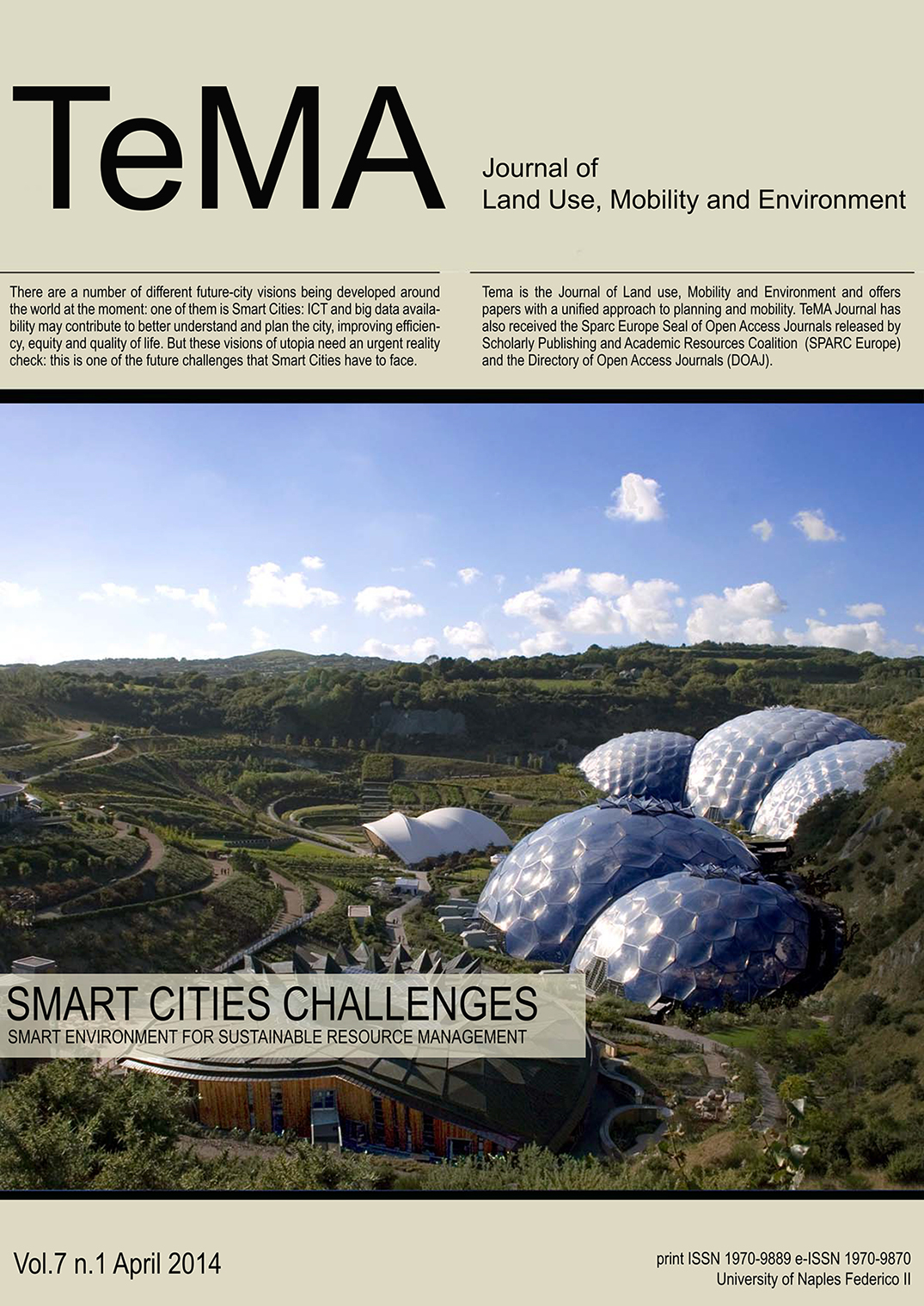 25_Vol 7 N° 1 (2014) Smart Cities Challenges Smart Environment for Sustainable Resource Management